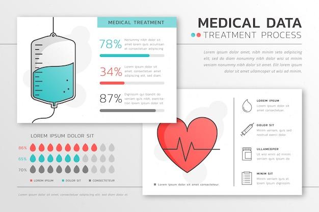 Infographie de santé médicale