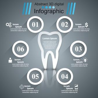 Infographie de la santé.