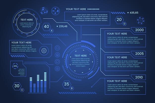 Infographie de la technologie