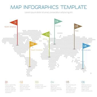 Infographie vectorielle internet
