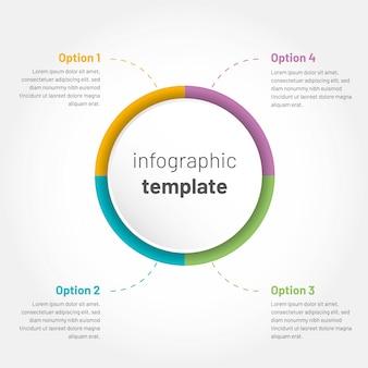 Infographie vectorielle moderne