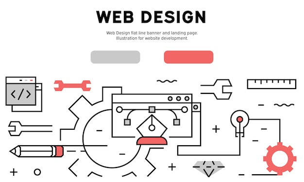 Infographie web design
