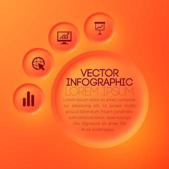 Infographie web d'entreprise