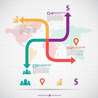 Infographique d'affaires donwload libre