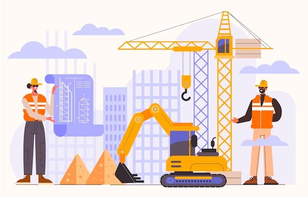Ingénierie et construction à plat