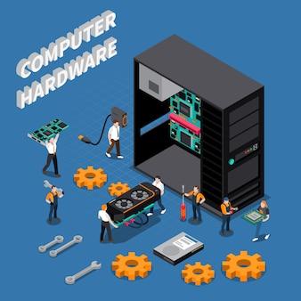 Ingénieur informatique compoisition isométrique