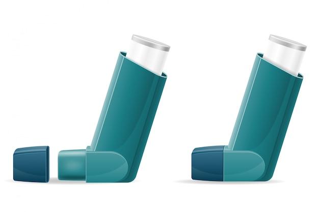 Inhalateur médical pour les patients souffrant d'asthme et d'essoufflement dans le traitement et la prévention de la maladie