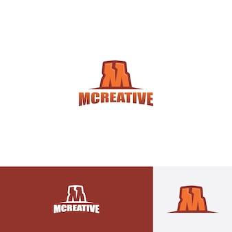 Initiales m inspiration de conception de logo