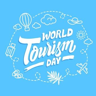 Inscription de la journée mondiale du tourisme