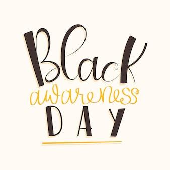 Inscription de la journée de sensibilisation noire