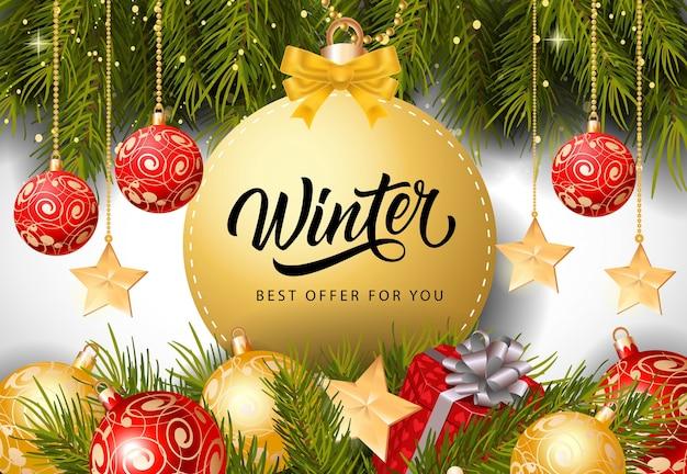 Inscription à la meilleure offre d'hiver