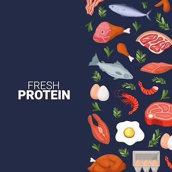 Inscription de protéines fraîches