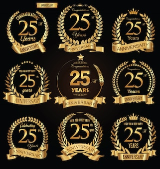Insigne d'anniversaire d'or