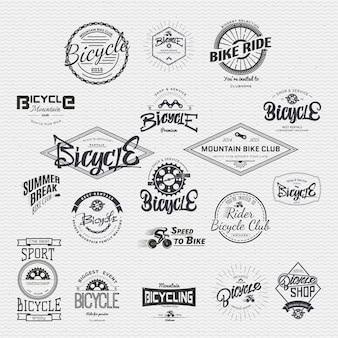 Insigne de badge de vélo