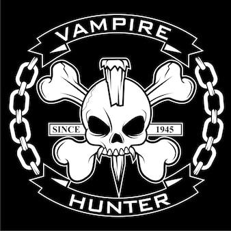 Insigne de chasseur de vampire