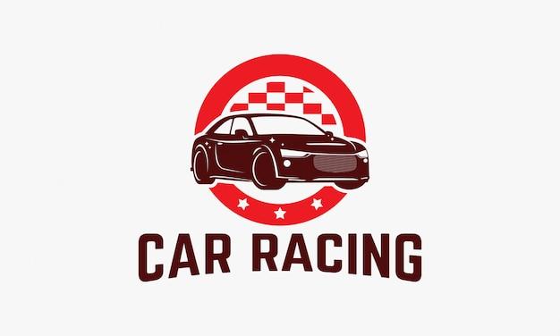Insigne du logo de la compétition automobile