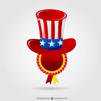Insigne etats unis chapeau