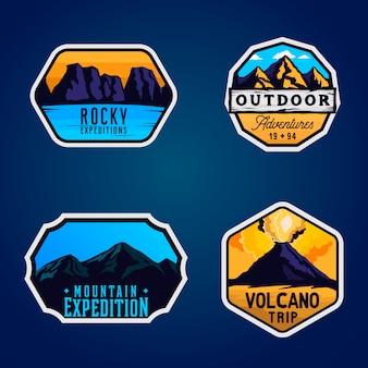 Insigne d'expédition en montagne