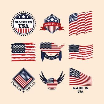 Insignes fabriqués aux états-unis