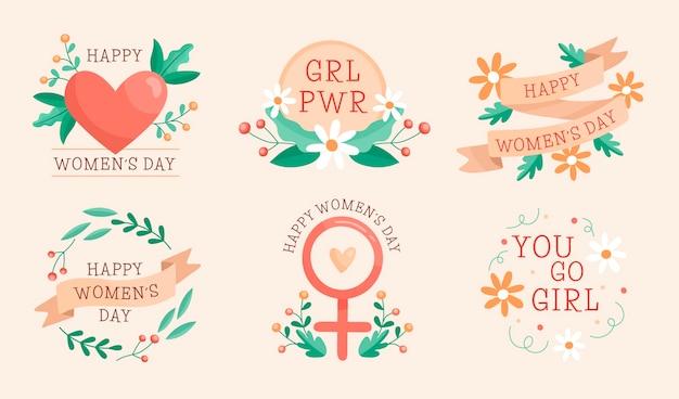 Insignes de la journée internationale de la femme