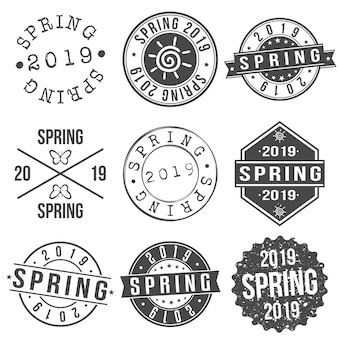 Insignes de printemps