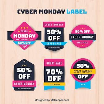 Insignes rose cyber lundi