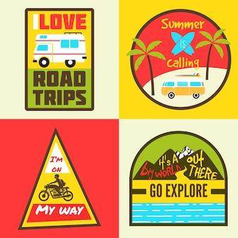 Insignes de voyage
