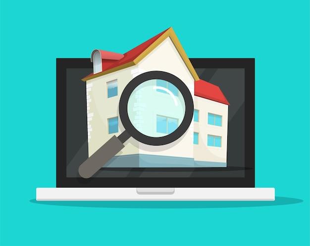 Inspection d'évaluation de la maison résidentielle, évaluation de l'architecture, vérification de la propriété du bâtiment moderne