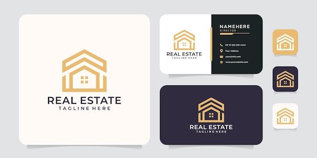 Inspiration de concept de logo immobilier.