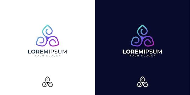 Inspiration de conception de logo abstrait