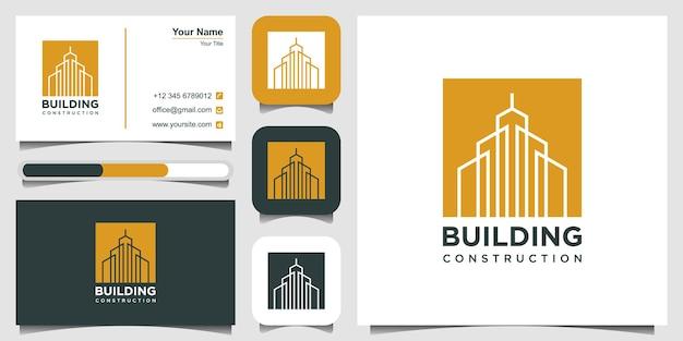 Inspiration de conception de logo de bâtiment