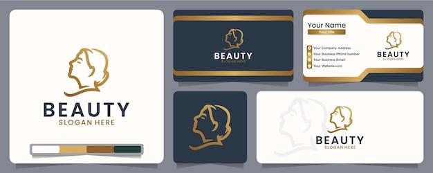 Inspiration de conception de logo beauté femme