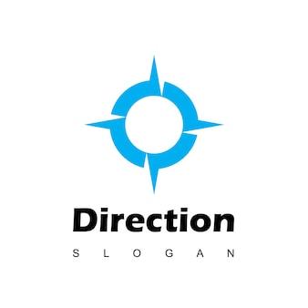 Inspiration de conception de logo de boussole