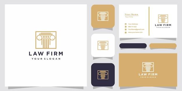 Inspiration de conception de logo de cabinet d'avocats