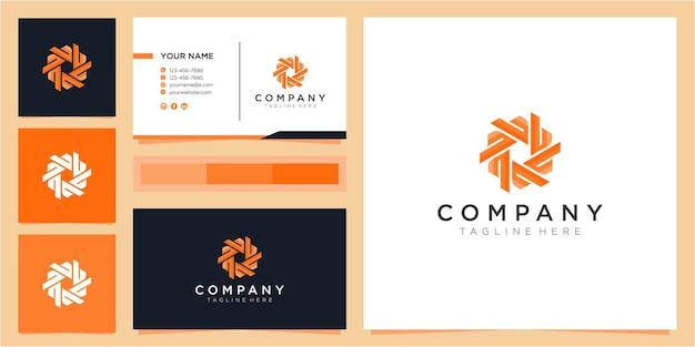 Inspiration de conception de logo de communauté lettre b colorée