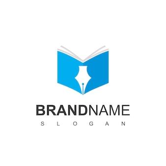 Inspiration de conception de logo d'éducation
