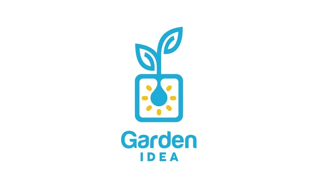 Inspiration de conception de logo d'innovation végétale