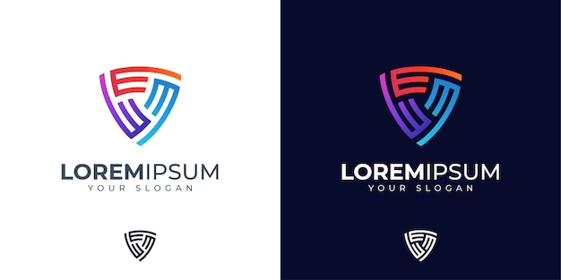 Inspiration de conception de logo lettre e