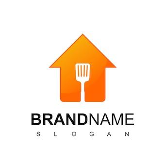 Inspiration de conception de logo de maison de cuisine