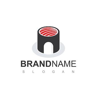 Inspiration de conception de logo de maison de sushi