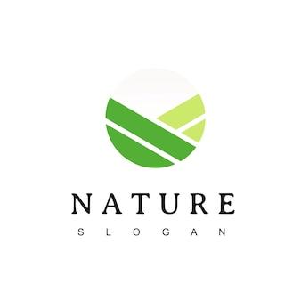 Inspiration de conception de logo de nature de cercle