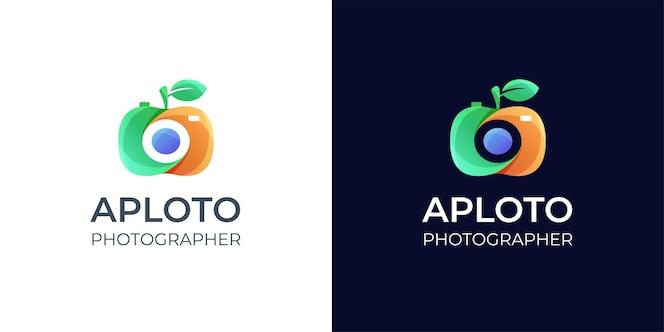 inspiration de conception de logo de photographie colorée