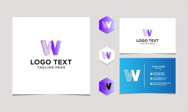 Inspiration de conception de logo pour le vecteur premium d'entreprise et de carte de visite premium vectorprint