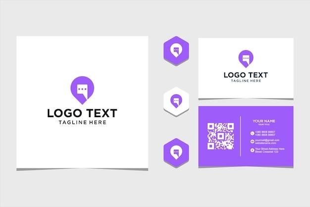 Inspiration de conception de logo pour le vecteur premium d'entreprise et de carte de visite vecteur premium