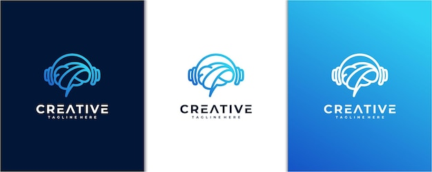 Inspiration du logo de la musique intelligente