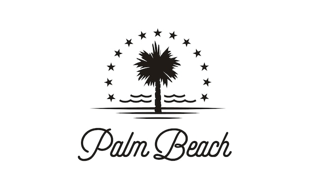 Inspiration du logo palm beach