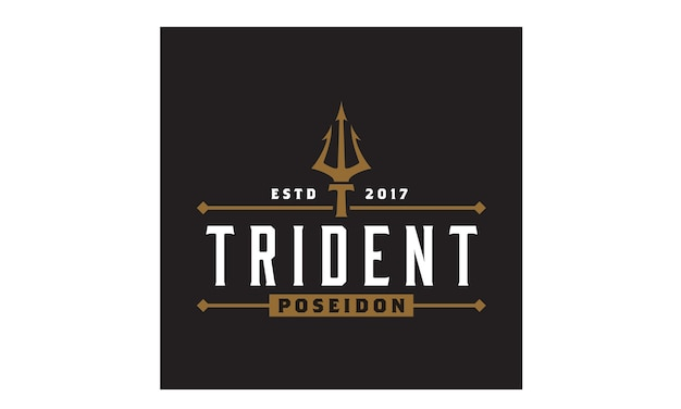 Inspiration du logo trident