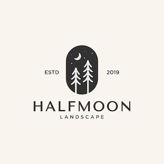 Inspiration extérieure de conception de logo,