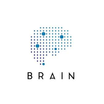 Inspiration de logo de cerveau