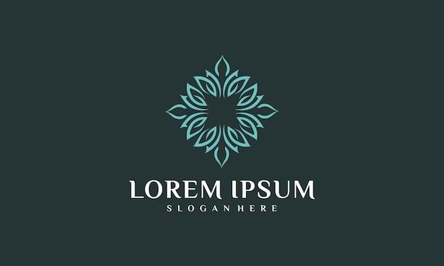Inspiration de logo intérieur de luxe naturel